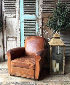 restauration fauteuil club cuir